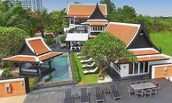 Pattaya - Beach Front 6 Bed Private Luxury Pool Villa